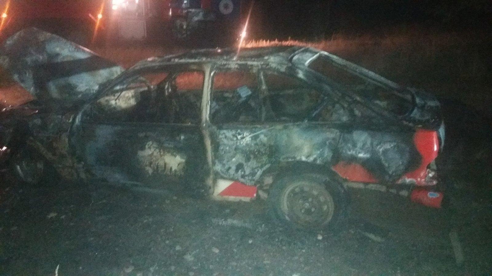 Пожар в д.Севрюки. Фото: Барановичский ГРОЧС