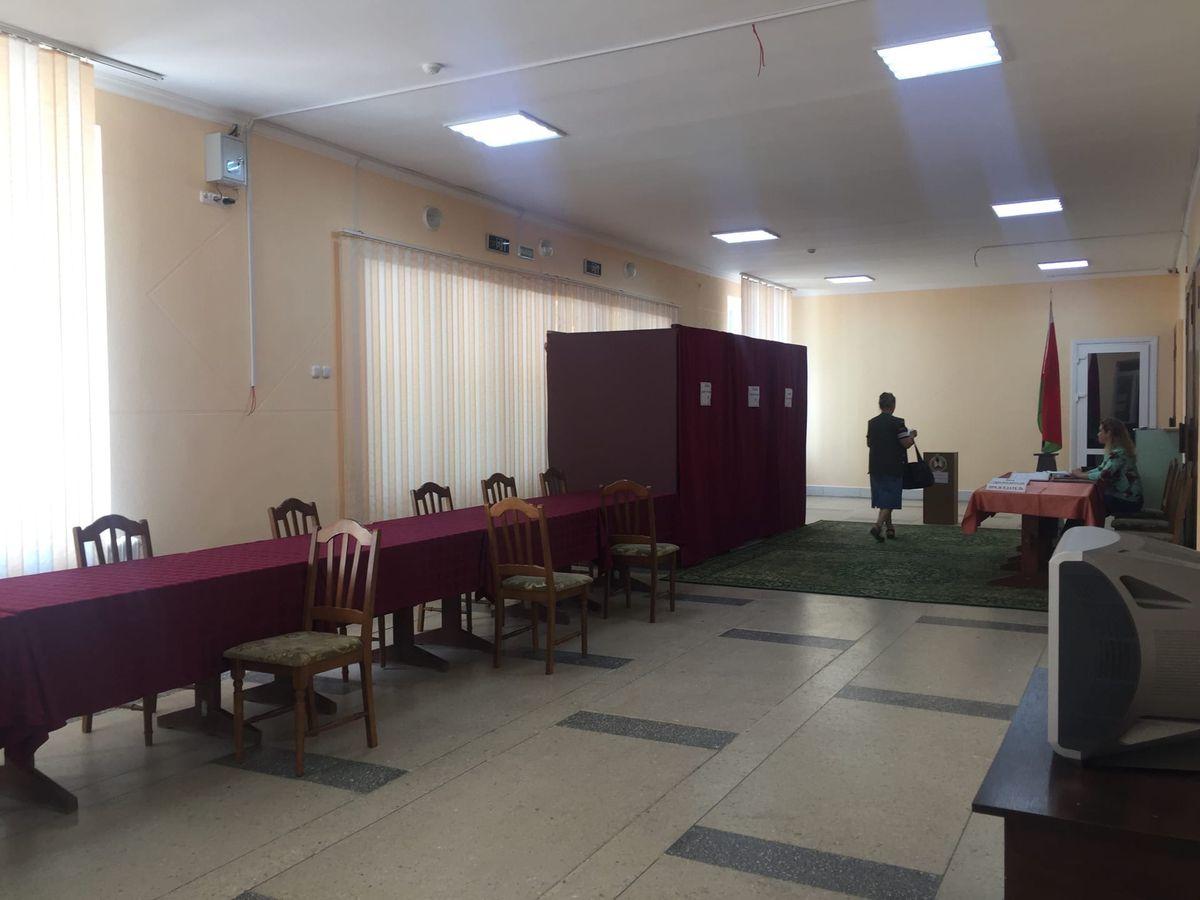 Избирательный участок №37 в Городском доме культуры. Фото: Диана КОСЯКИНА