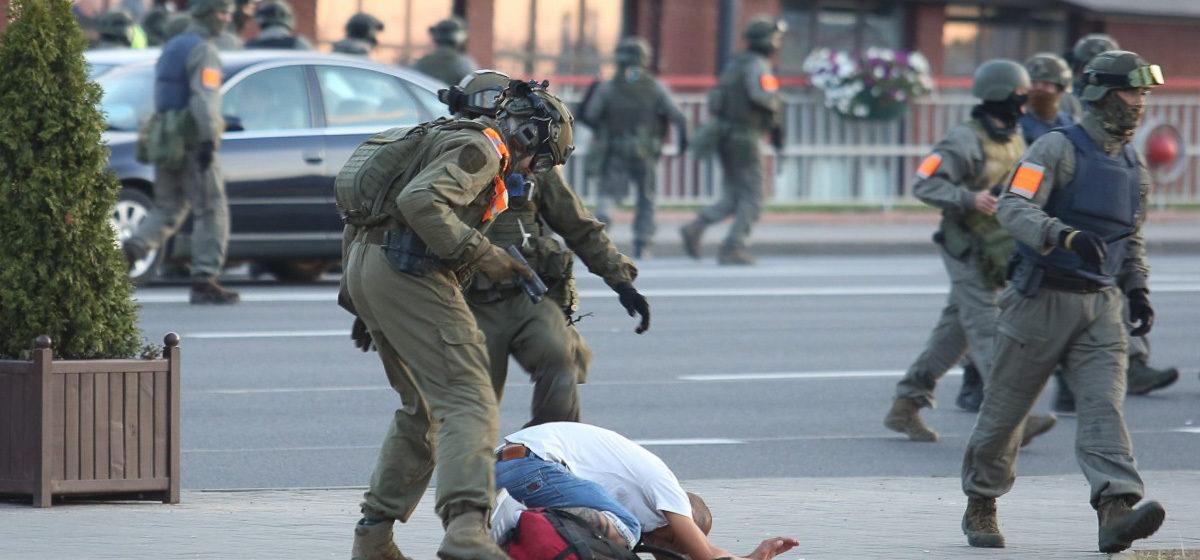 Как прошла четвертая ночь протестов в Беларуси