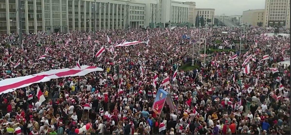 Что происходит 23 августа в городах Беларуси. Онлайн