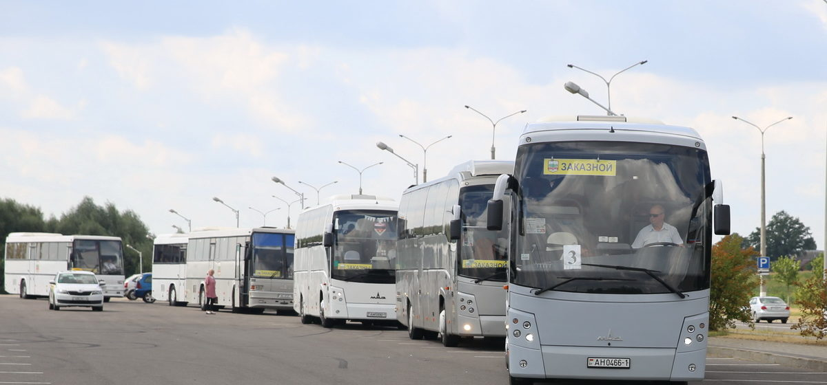 «На митинг, батьку защищать». Куда и зачем поехали восемь автобусов из Барановичей
