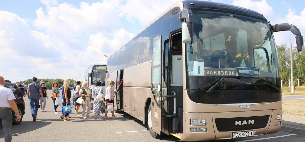 Движение автобуса по международному маршруту Барановичи – Вильнюс возобновляется
