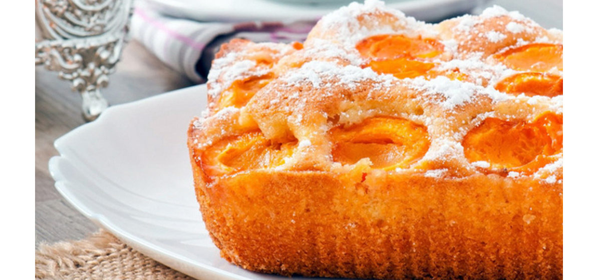 Вкусно и просто. Пирог наизнанку с абрикосами