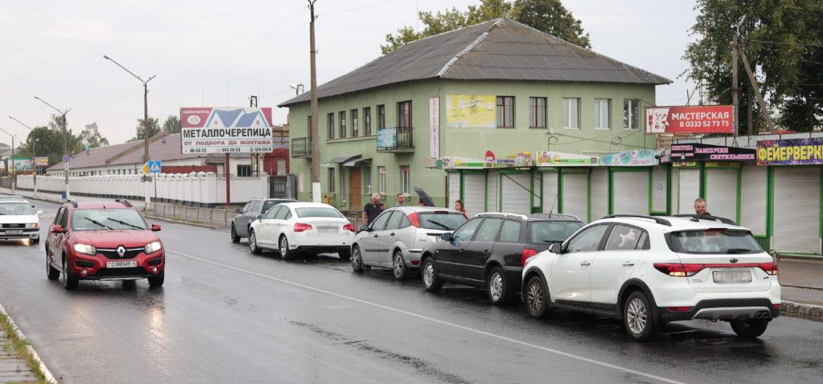Три аварии на одной улице в Барановичах