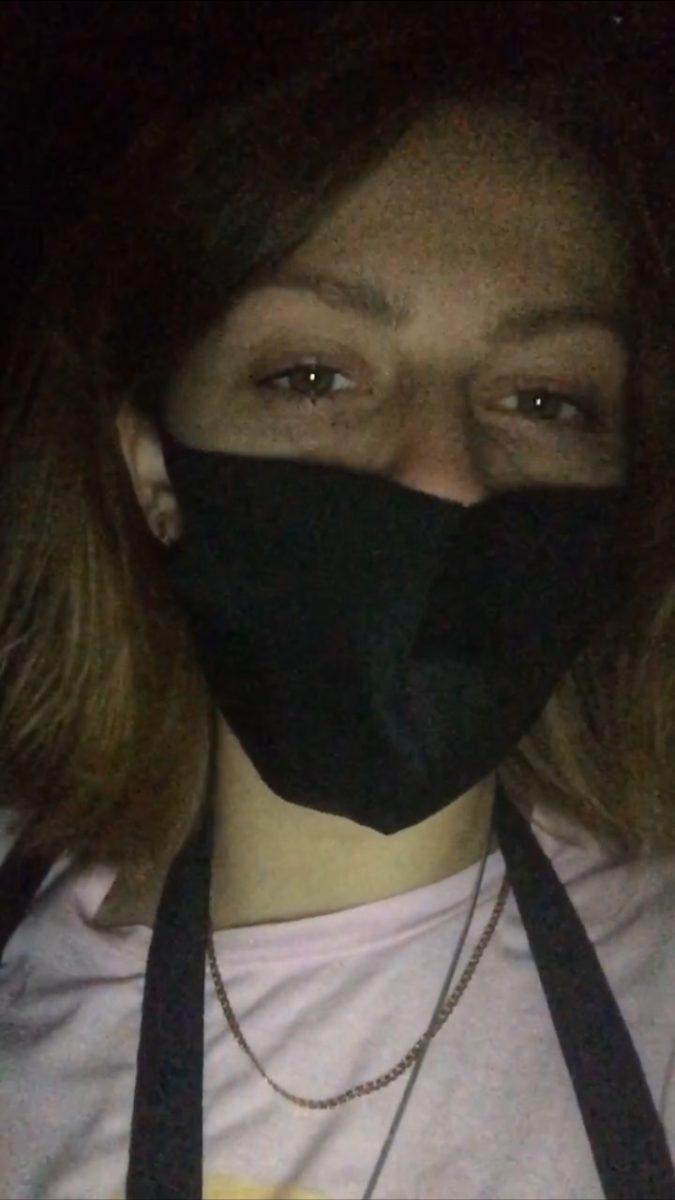 Спустя 10 минут после слезоточивого газа в центре города Барановичи корреспондента Intex-press «отпустило». Фото: Диана КОСЯКИНА