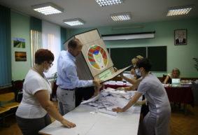 Как проголосовали Барановичи на выборах президента