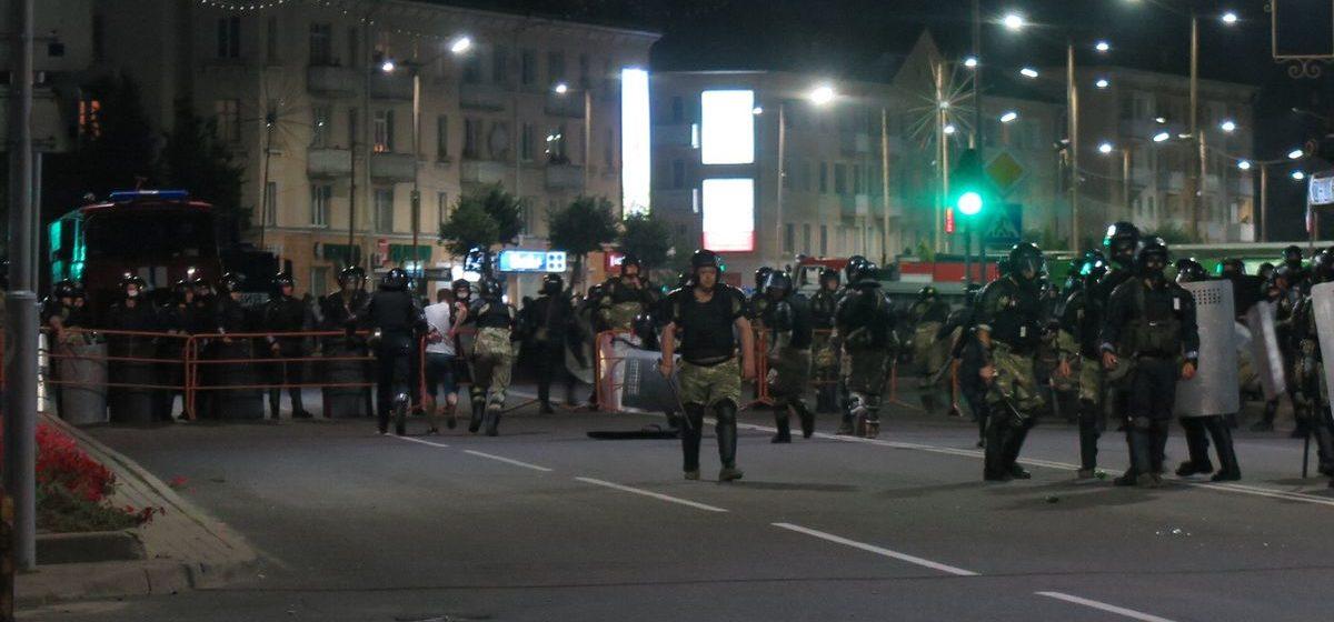 Второй день протеста в Барановичах: сколько людей обратилось за помощью к медикам скорой помощи
