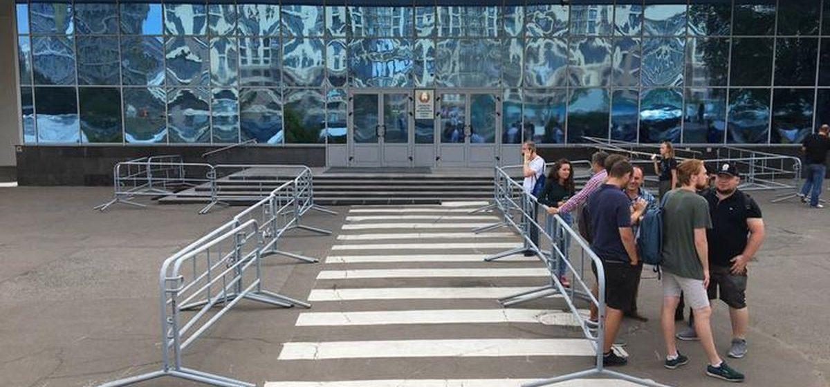 Сотрудники БТ и белорусского радио вышли на общенациональную забастовку