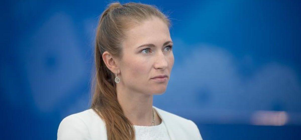 Домрачева высказалась о протестах в Беларуси