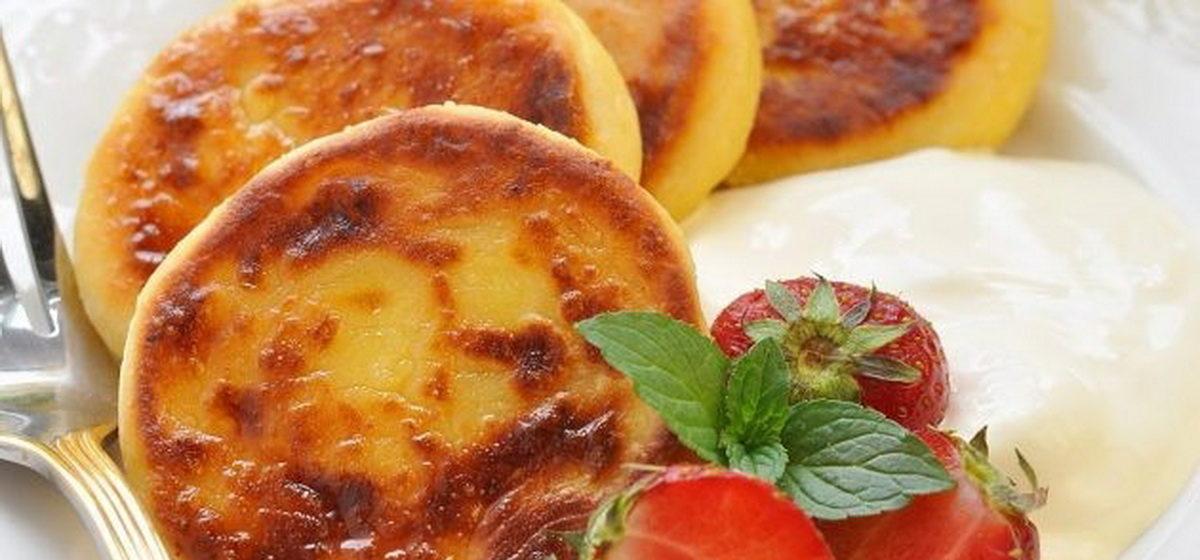 Вкусно и просто. Сырники с абрикосами в духовке