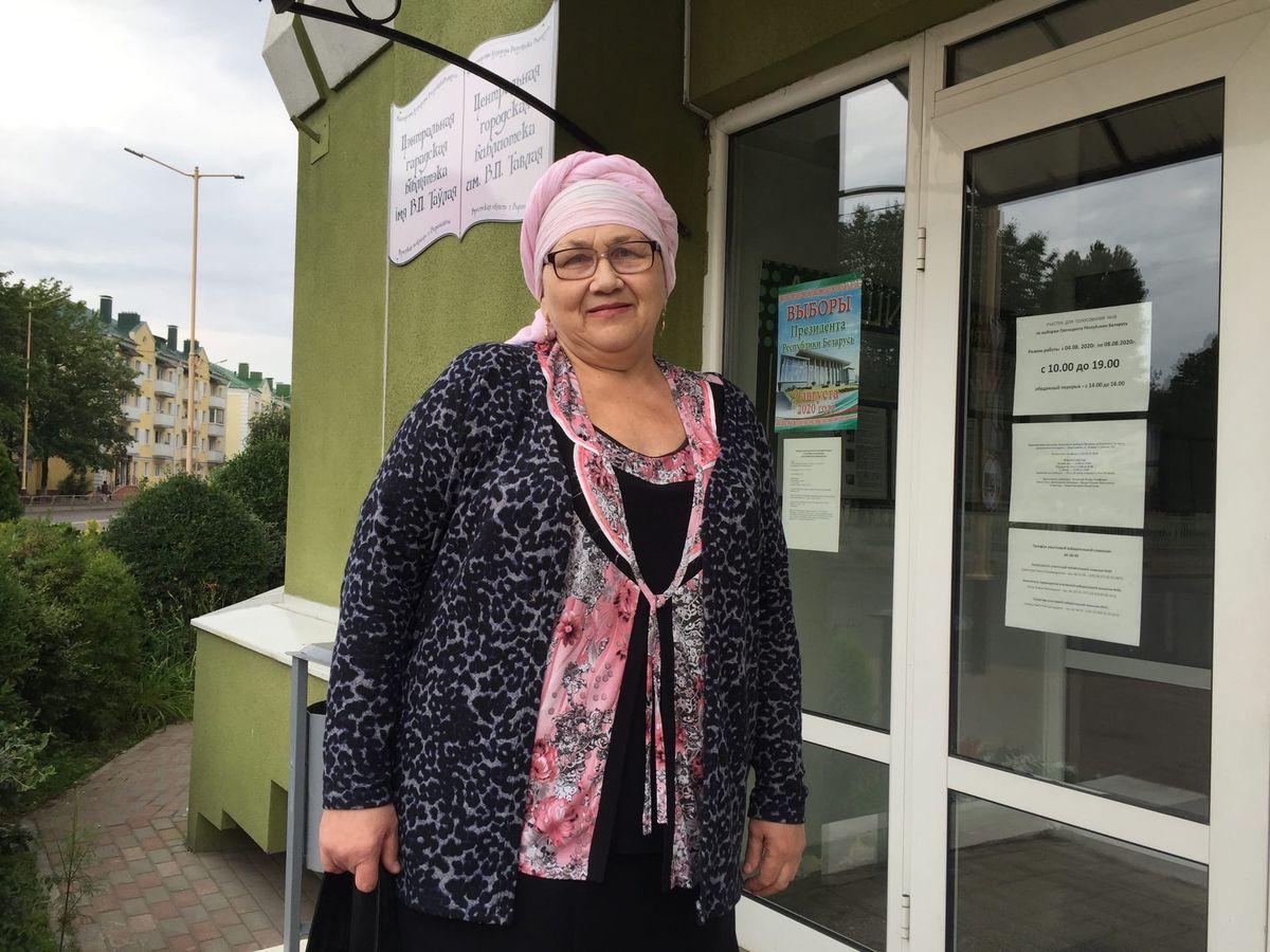 Пенсионерка Татьяна Константиновна. Фото: Диана КОСЯКИНА