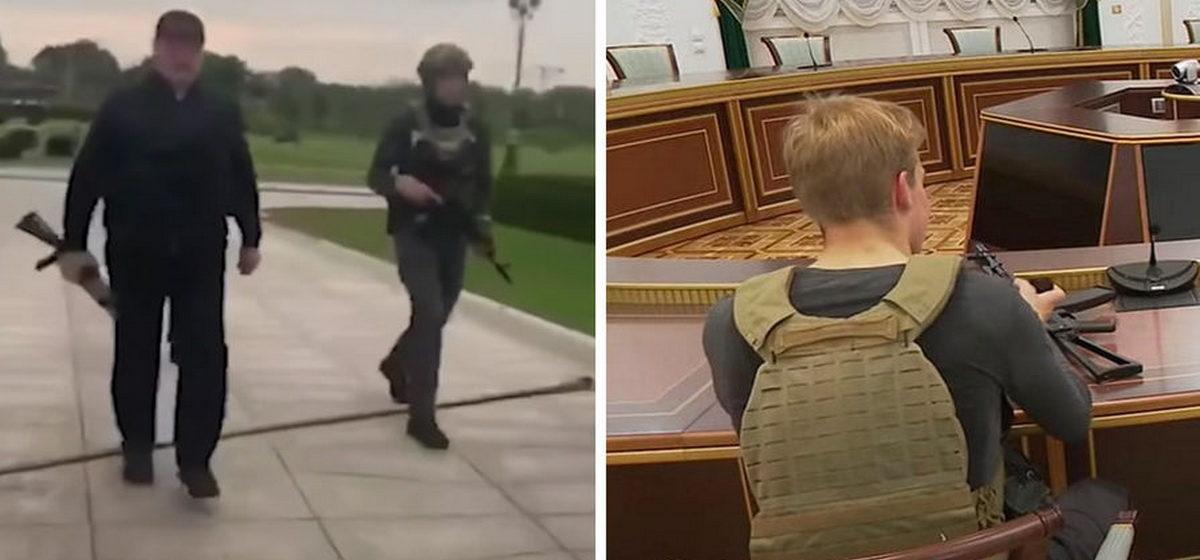 Оппозиция требует расследовать, как несовершеннолетний сын Лукашенко получил автомат