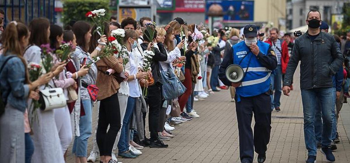 Что происходит 22 августа в городах Беларуси. Онлайн