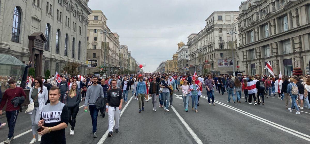 Испытано на себе. Как я ездила в Минск на «Марш новой Беларуси»