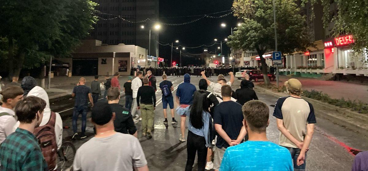 Протесты в Барановичах глазами журналистов