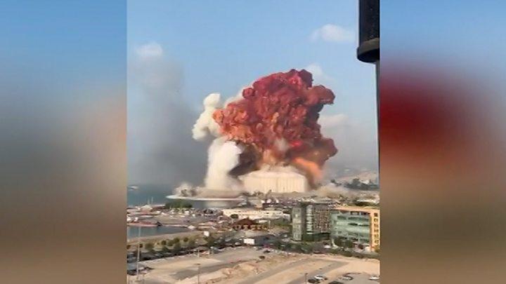 Взрыв в Бейруте: не менее сотни погибших, тысячи раненых. Видео