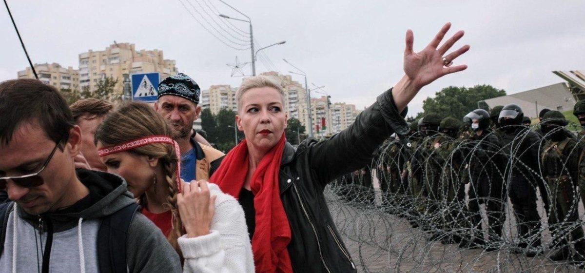 У Марии Колесниковой истек срок содержания под стражей