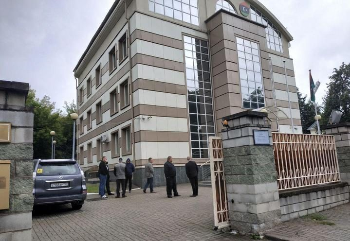 Неизвестные пытались взять штурмом посольство Ливии в Беларуси