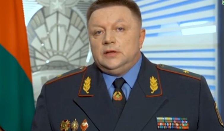 Замминистра внутренних дел Александр Барсуков. Фото: naviny.by