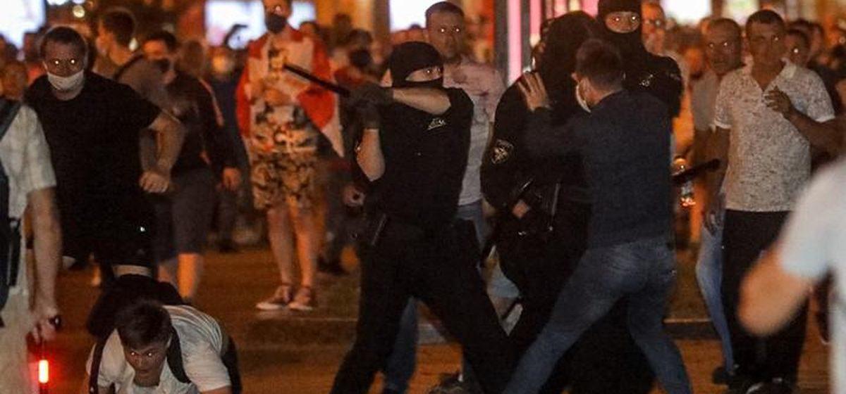 В Бресте оружие было применено на поражение. Итоги протестных акций за последние сутки