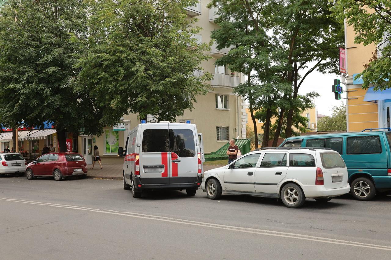 ДТП на улице Ленина. Фото: Александр КОРОБ