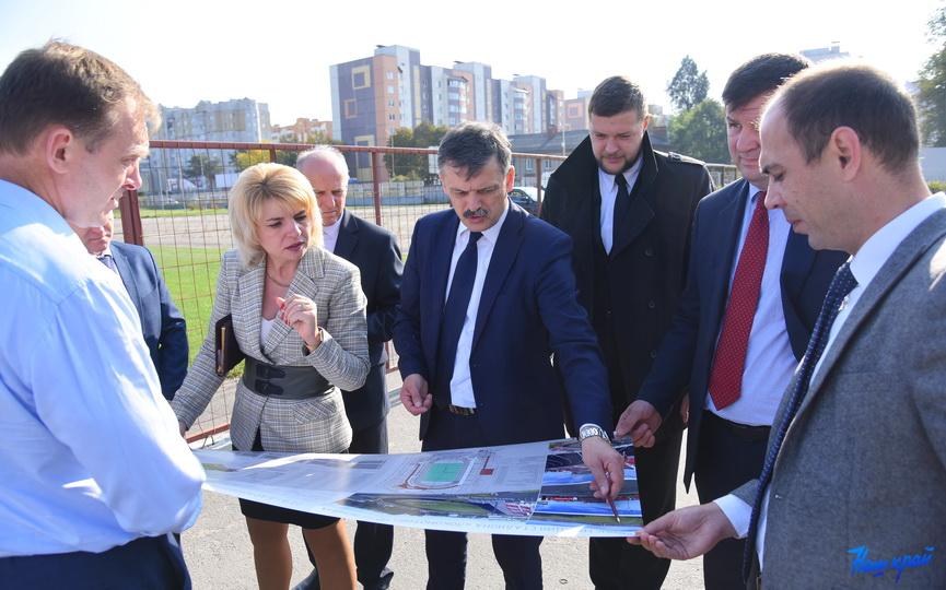 Министр спорта и туризма посетил Барановичи