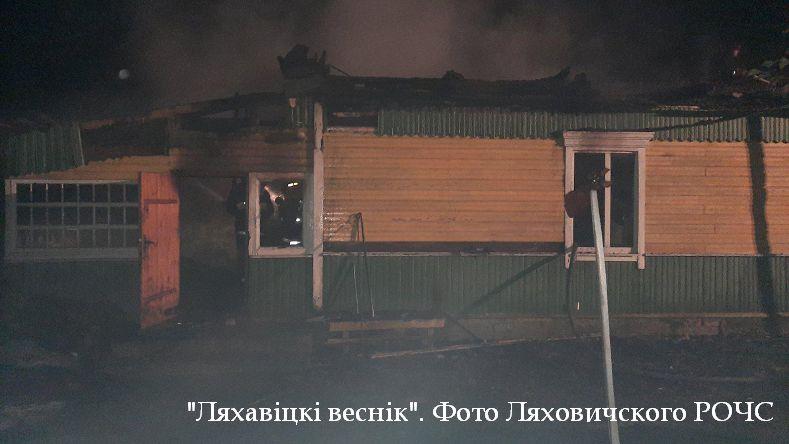 Мужчина погиб в огне в Ляховичском районе