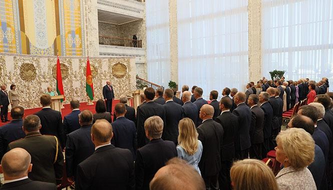 «Я не могу, не имею права бросить белорусов». О чем говорил Лукашенко на инаугурации