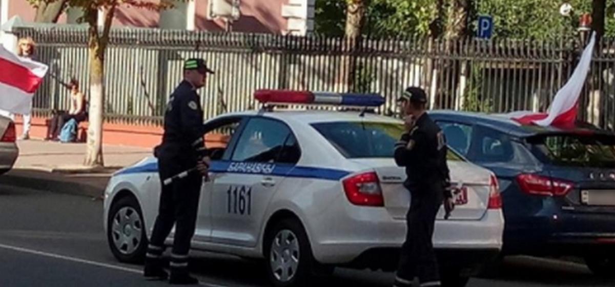 Задержание автомобилистов 13 сентября. Фото читателя Intex-press
