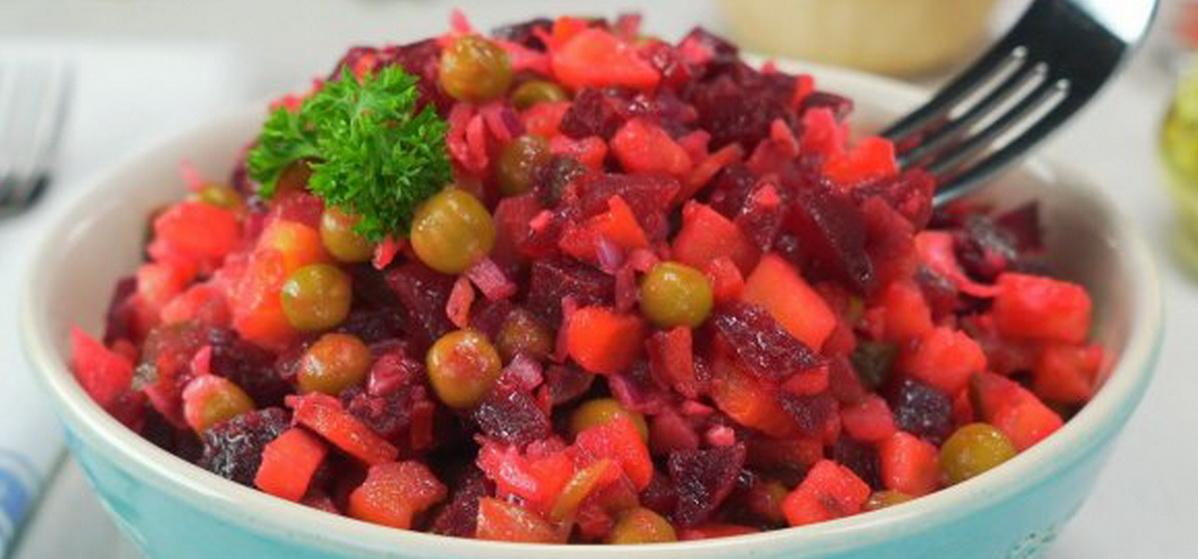 Вкусно и просто. Винегрет из запеченных овощей