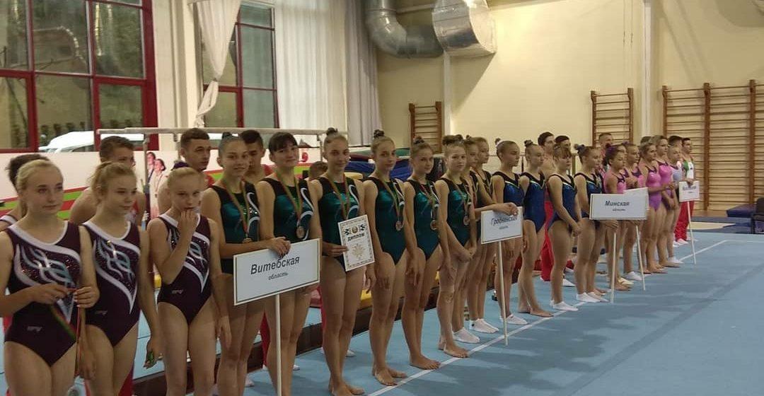 Барановичские гимнастки – в числе призеров чемпионата Беларуси
