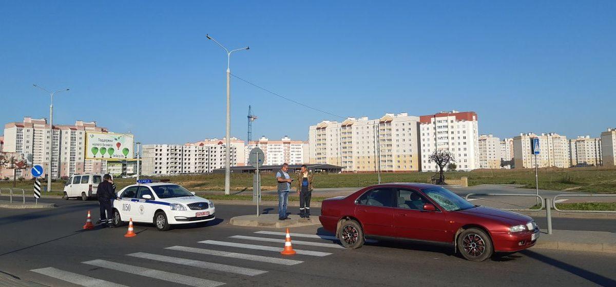 В Барановичах легковушка сбила женщину, которая переходила дорогу с ребенком