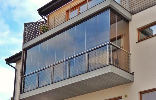 Безрамное остекление балконов – новая технология уже в Беларуси