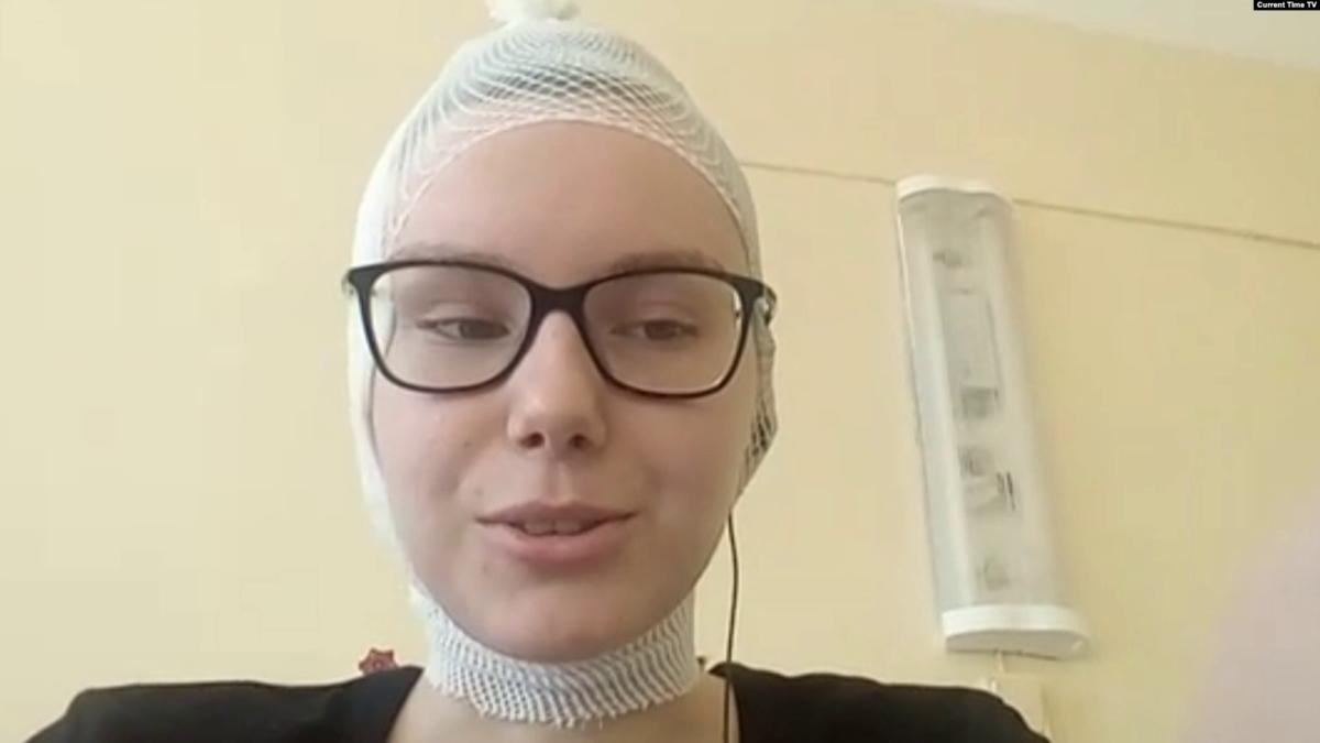 Мария Зайцева. Кадр из видео