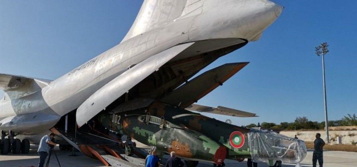 Первые Су-25, отремонтированные в Барановичах, прибыли в Болгарию