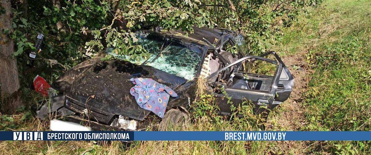Житель Барановичей попал в аварию в Ганцевичском районе — погибла пассажирка из Ляховичей