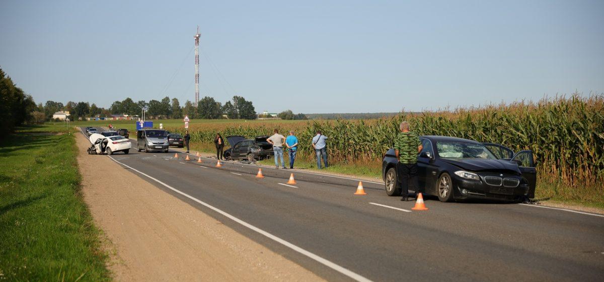 В отношении одного из водителей, участвовавшего в аварии под Барановичами, возбудили уголовное дело