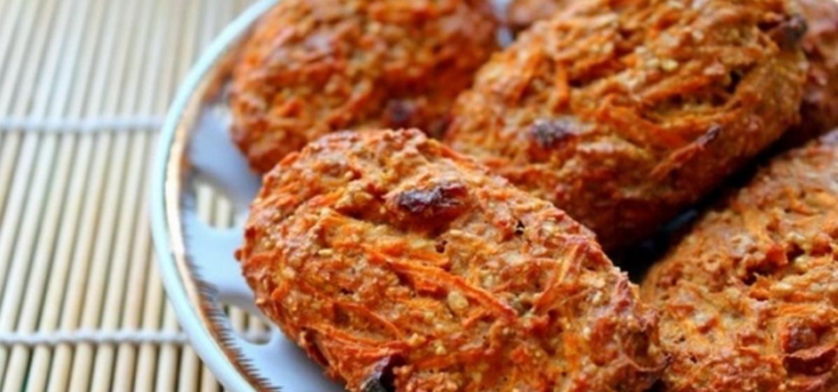 Вкусно и просто. Морковное печенье