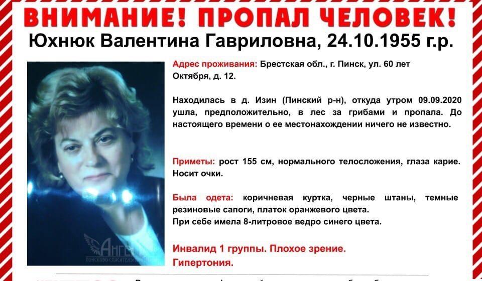 Волонтерам из Барановичей нужна помощь в поиске женщины, пропавшей в лесу