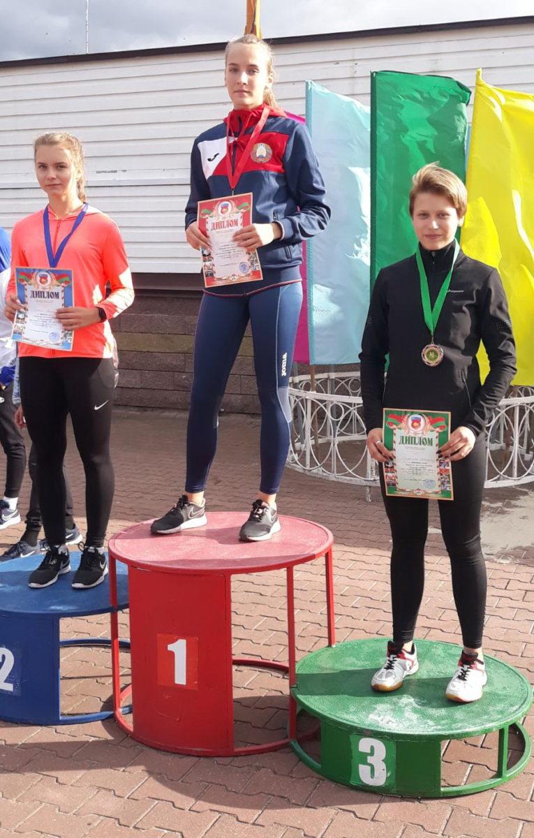 Ангелина Стречень - 3-е место.