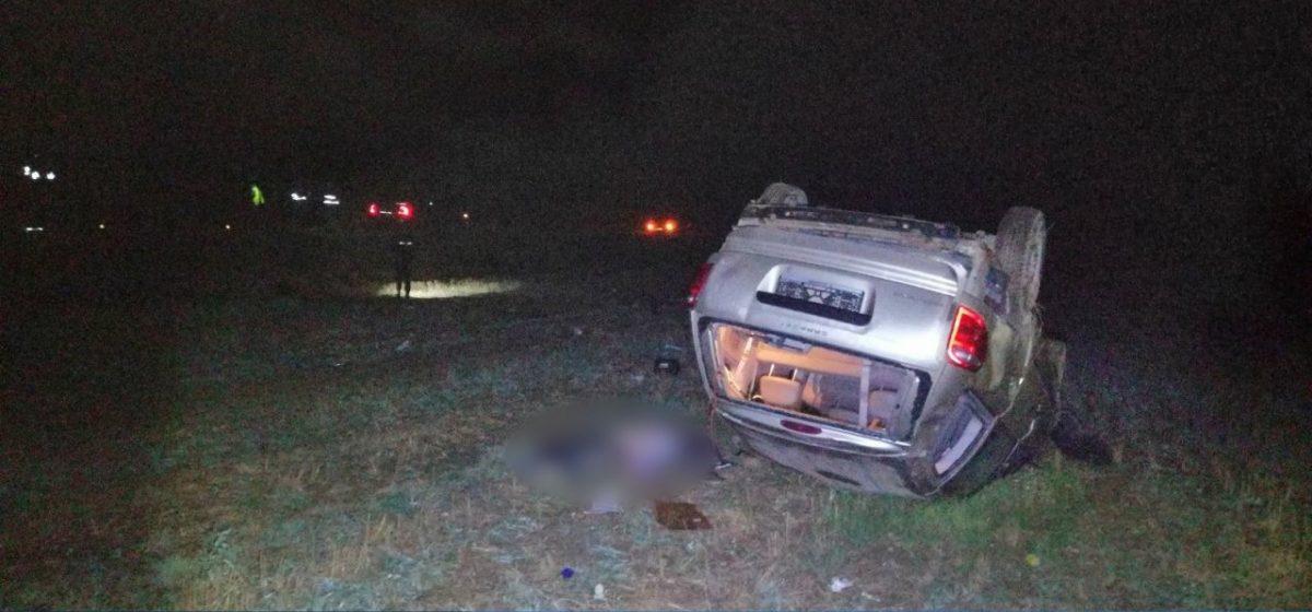 Под Молодечно перевернулся Dodge — погибли водитель и пассажир