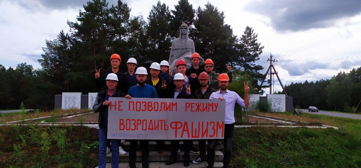 Шахтер объявил протест и отказывается подниматься из шахты — он требует отставки Лукашенко