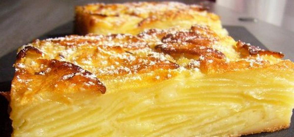 Вкусно и просто. Пирог «Невидимый» с яблоками и грушами