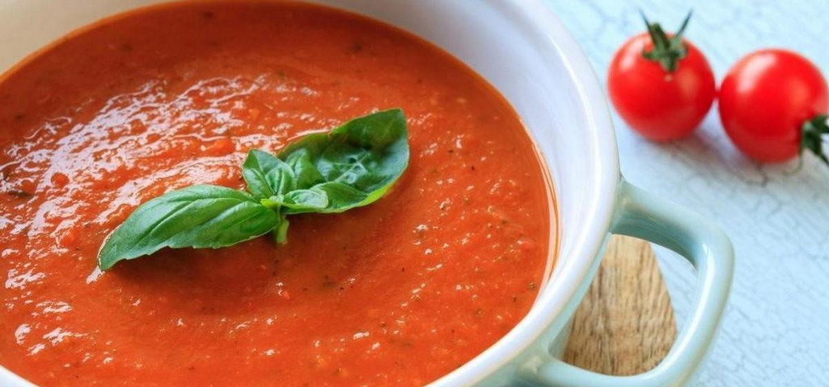 Вкусно и просто. Суп-пюре из свежих помидоров