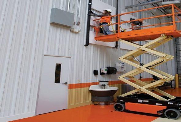 Удобное оборудование для проведения работ на высоте
