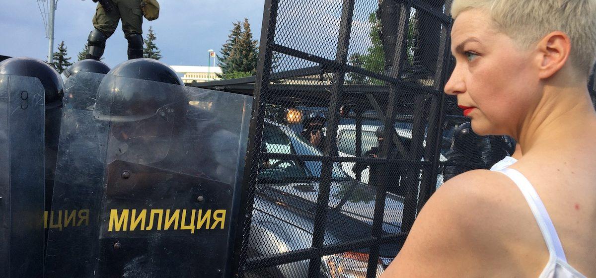 Марию Колесникову арестовали и доставили в СИЗО
