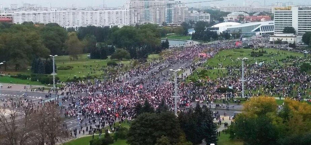 Что происходит 27 сентября в Минске и других городах. Онлайн