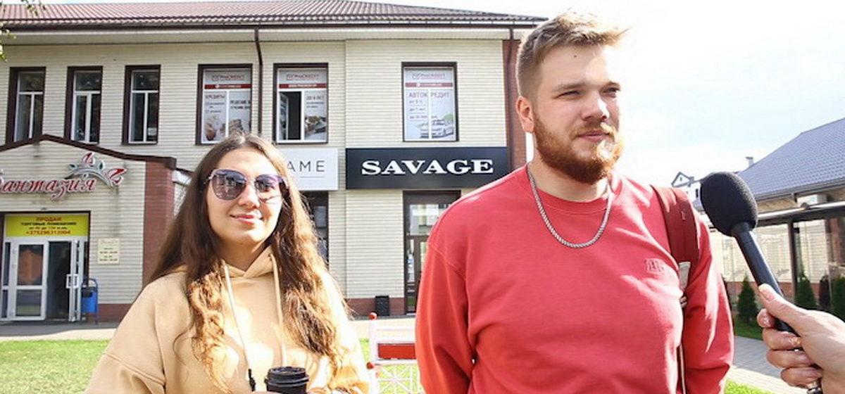 Что понимают под словом «демократия» жители города Барановичи. Видео