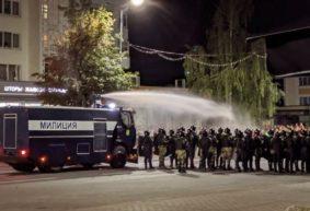 В МВД заявили, что впервые в истории страны водомет применили в Бресте. А что тогда было в Барановичах 9 августа?