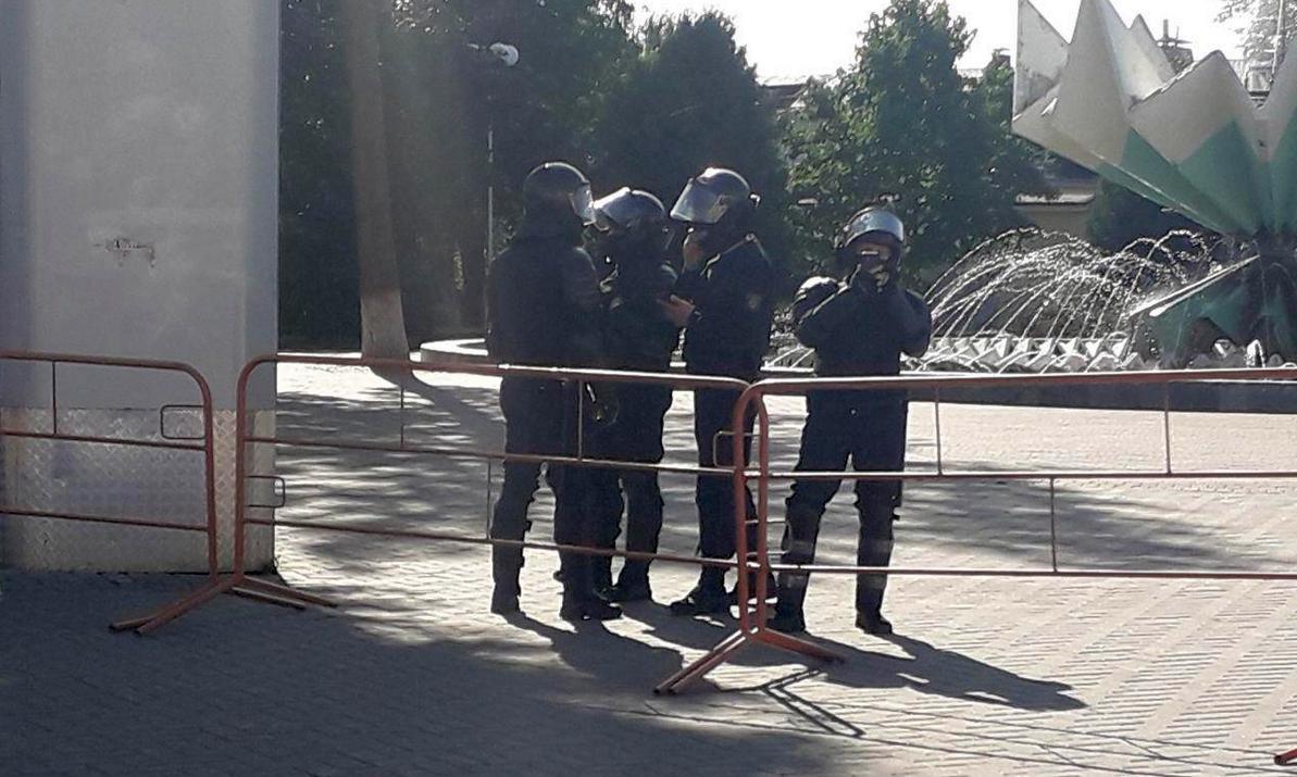Площадь 20 сентября. Фото: Татьяна Малеж